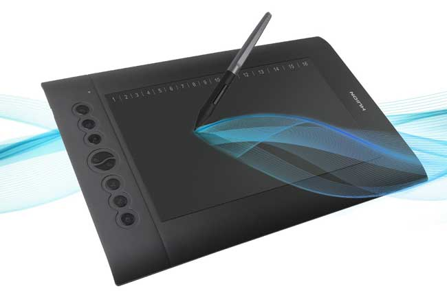 Huion H610 Pro V2 - best graphic drawing tablets